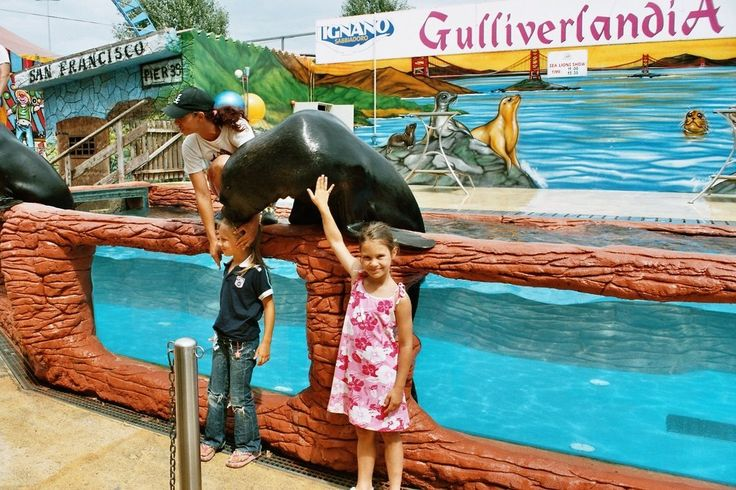 2017 - Gulliverlandia,  Lignano Sabbiadoro (Udine), Via San Giuliano 13, about 100 miles east of Vicenza; open May 13-Sept. 10; 10 a.m. to 6 p.m. If features an aquarium, a Volcano Rapids Area, Medieval entertainment, a Butterfly Museum, and many more attractions; admission: €18; reduced €14 for children 3-8.