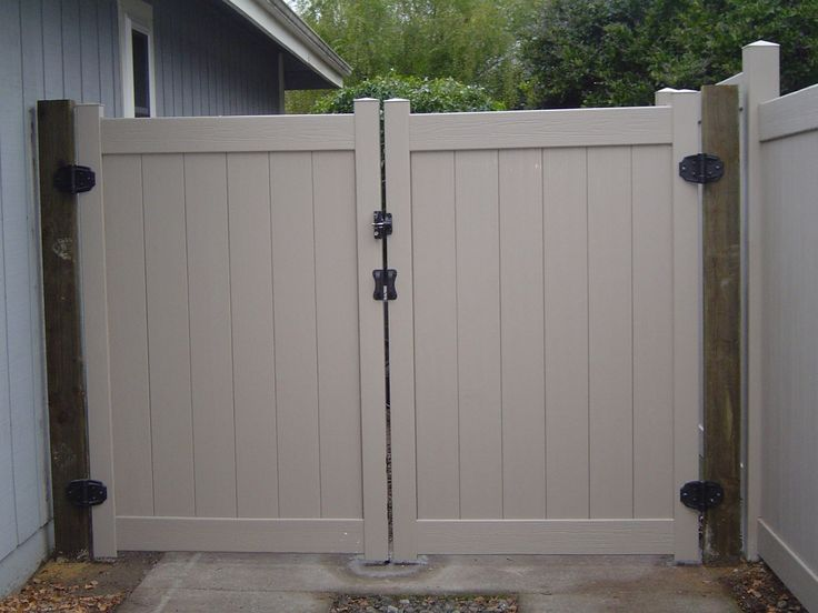 Vinyl Privacy Driveway Gates Fences Gates Screens