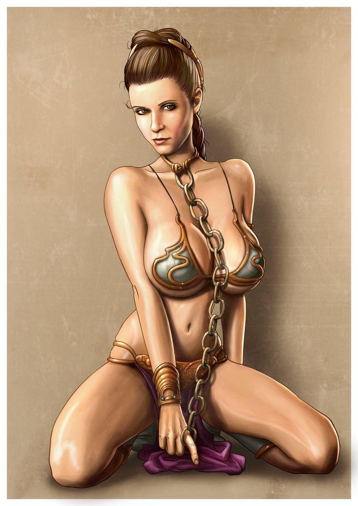 Star Wars Lea Nackt