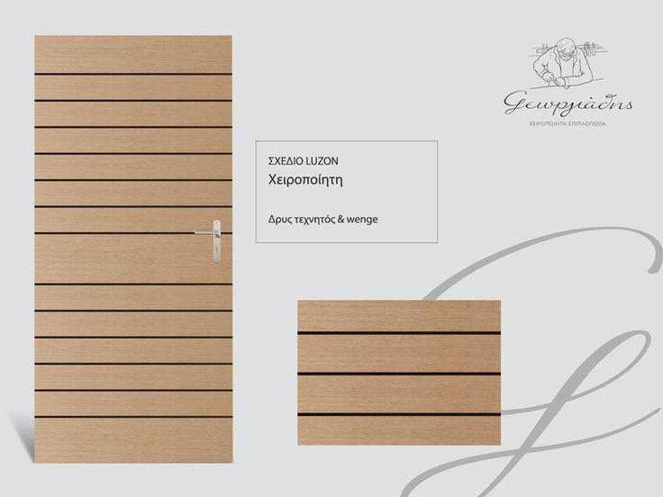 handmade wooden door_code: Luzon / by Georgiadis furnitures #handmade #wooden #door #marqueterie