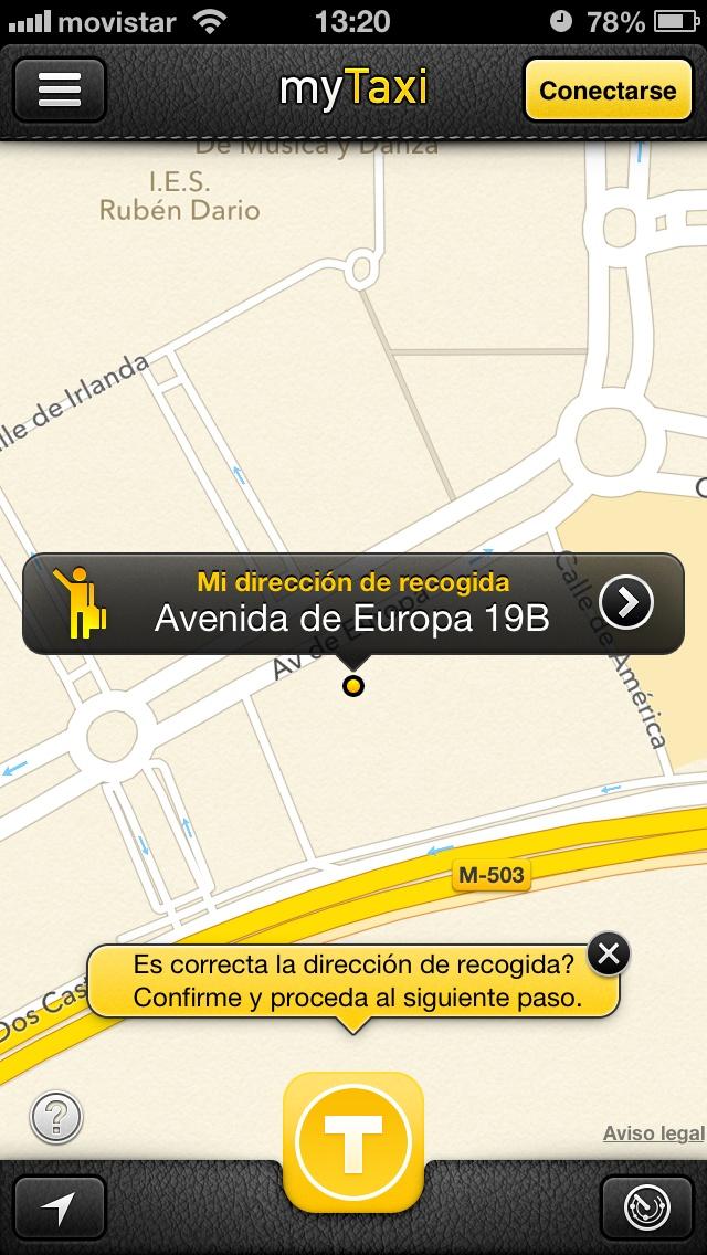 MyTaxi, la aplicación para pedir un taxi desde tu smartphone | El Rincón de Sergarlo #Apps