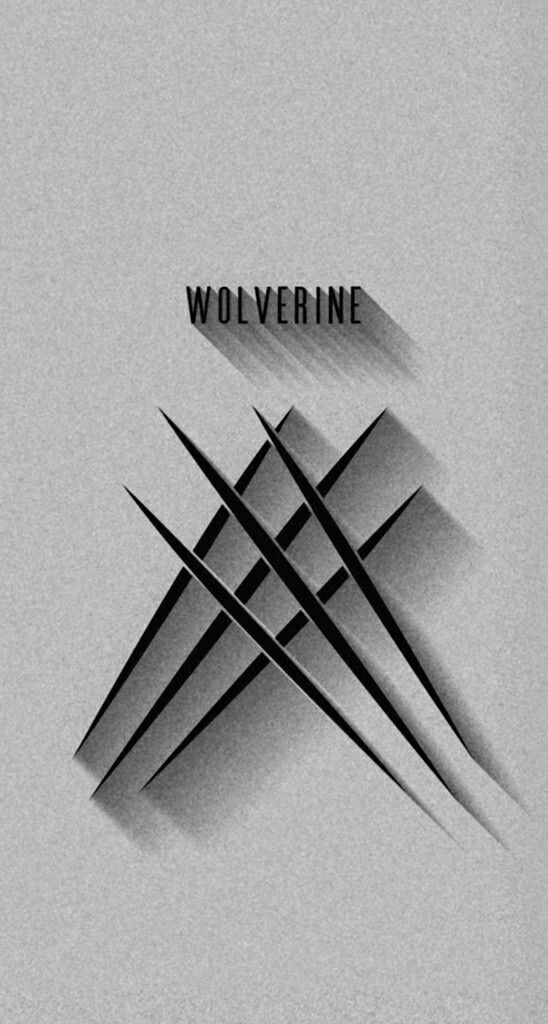 Wolverine Claw Marks Monochrome Wallpaper Wallpapers Wolverine