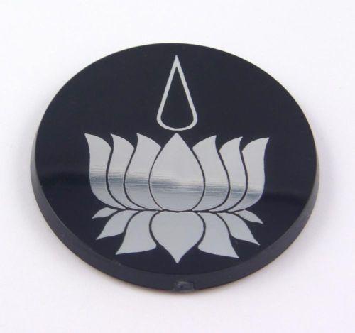 Ayyavazhi Lotus Hindu Religious Symbol Car Acrylic Chrome Emblem Decal Sticker | eBay