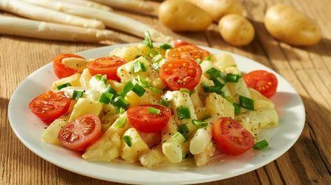 Warmer Spargelsalat Rezept » Knorr