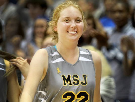 Xavier, Mount St. Joseph to hold Lauren Hill Tipoff Classic. Photo: Lauren Hill scored her first collegiate basket last year at Cintas Center when Mount St. Joseph played Hiram College. Lauren, who passed away in April from an inoperable brain tumor, will be honored in a new Tipoff Classic series in her name. The Enquirer/Liz Dufour