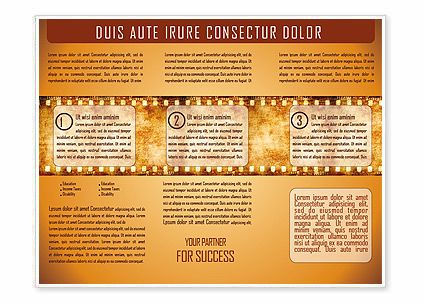 film brochure template - 18 best paper and parchment images on pinterest
