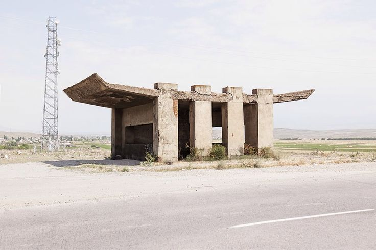 Chris Herwig - Soviet bus stops - Armenia