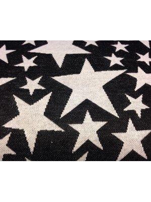 Strik/ jacquard/ jersey - med stjerner