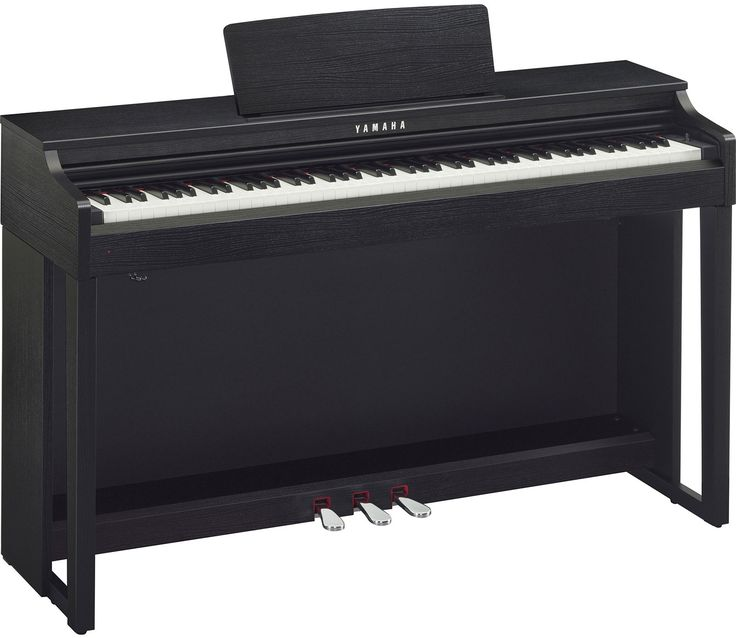 88-key Digital Piano with Synthetic Ivory Keytops, Graded Hammer Action, Real Grand Expression Sound Engine, Onboard Reverb, and Stereo Speaker System - Black Walnut