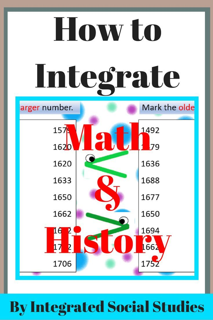 Math and history can absolutely be taught together. And it isn't just adding and subtracting. Read my blog about my TpT product that helps you integrate math and history instruction in any elementary school class.