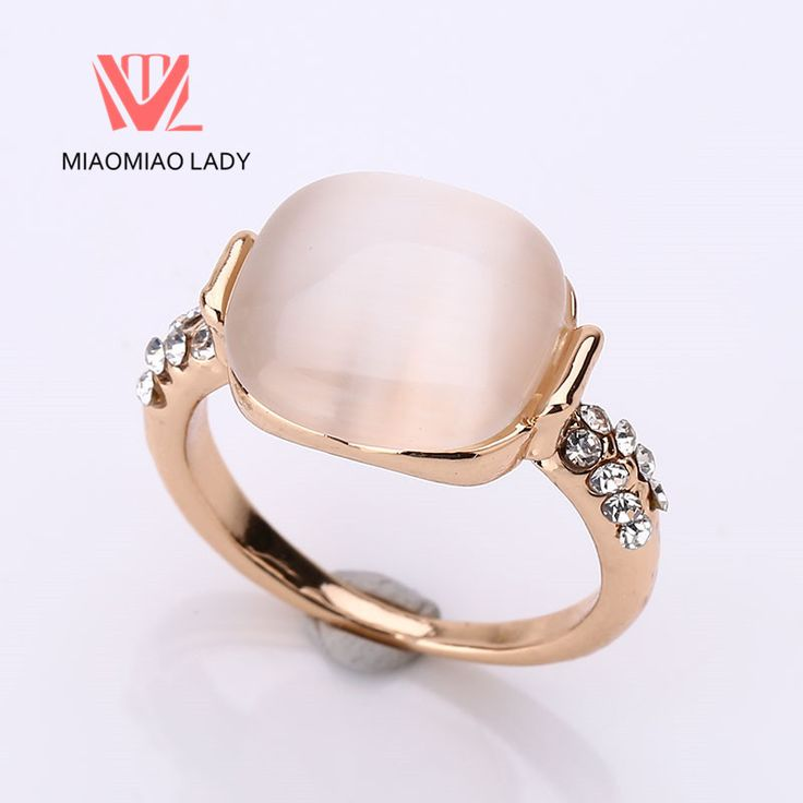 Simple Sweet Wedding Rings Boheme Female Fashion Turkish Jewelry Opals Trendy Engagement Rings Luxury Women Classic Party Rings