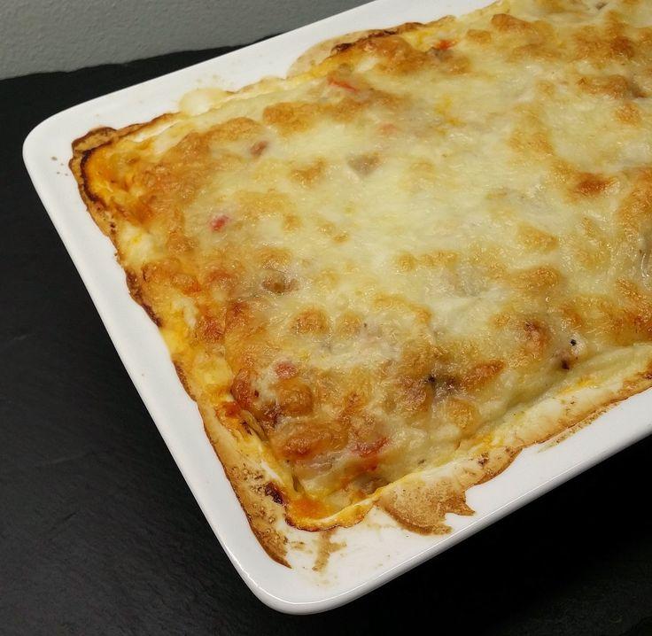 Klidmoster.dk: Lasagne med blomkålsbechamel (LCHF)...