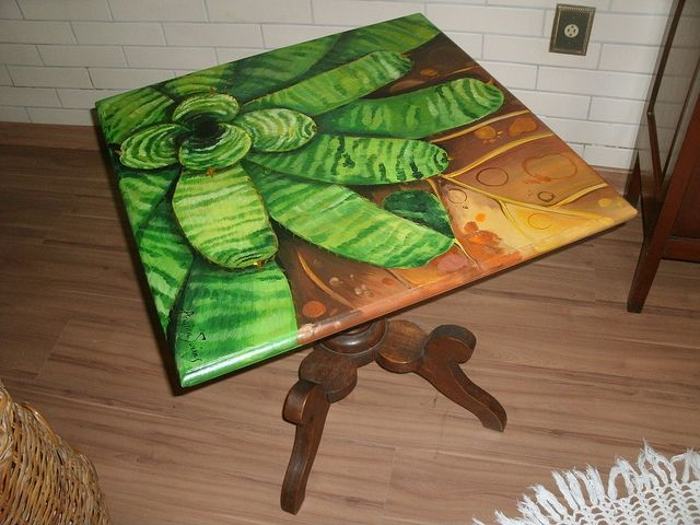mesa restaurada e personalizada | Flickr - Photo Sharing!