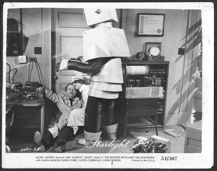 The Bowery Boys Meet the Monsters ORIGINAL 1950s Photo Comedy-Horror Hall