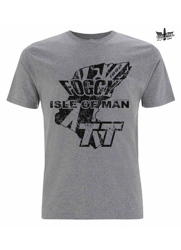 New 2015 Carl Fogarty TT Shirt, Oily Rag OR-F5 Official Foggy merchandise Med