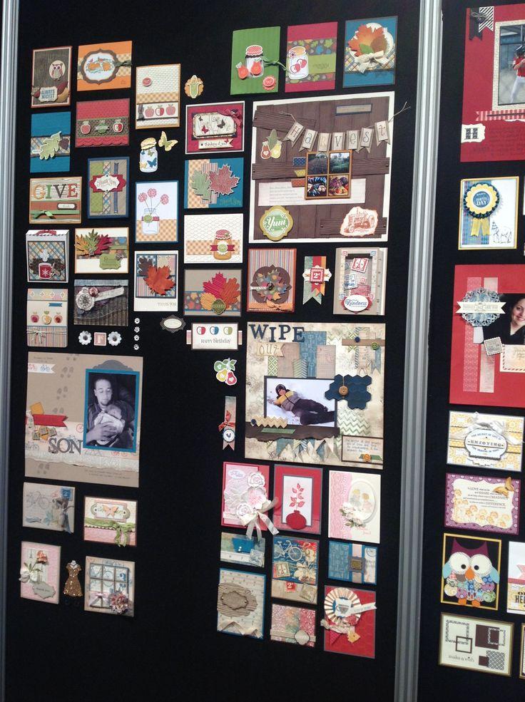 Ideas! Ideas! Display board, Baseball cards, Display