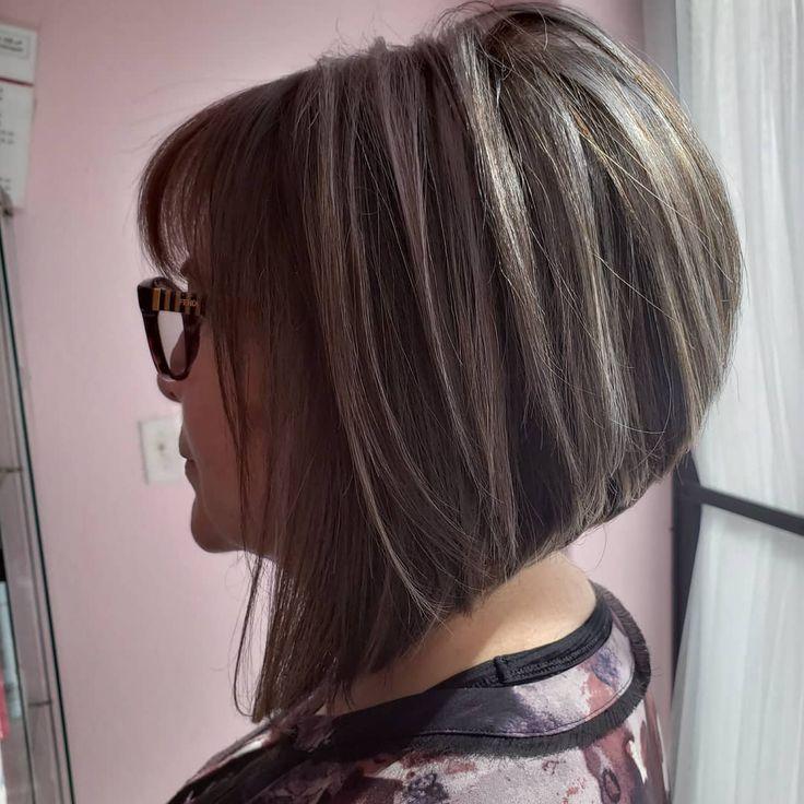 #angledbob #aline #haircut #shorthair #highlights #bob #hair #az #tucson #zsalon #stylist #behindthechair #armstringmccall #healthyhair…