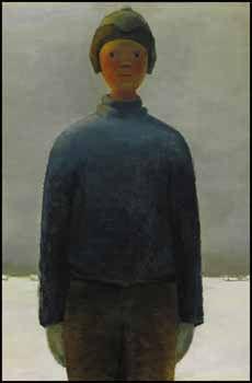 Un Ti-Gus de 672 750 $, 28 mai 2010 - Ti-Gus, une huile sur toile de Jean Paul Lemieux, peinte en 1962