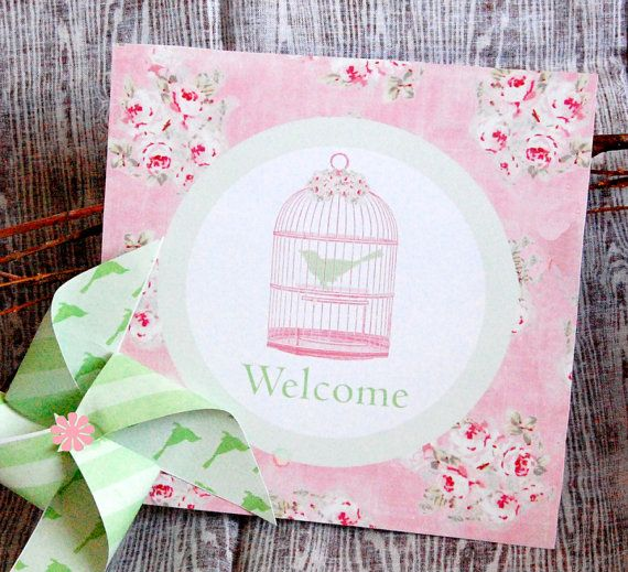 vintage birthday  decorations | Vintage Bird Cage Decorations for Birthday Party or Baby Shower ...