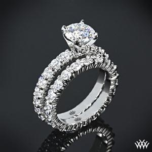18k white gold quot diamonds for an eternity quot wedding