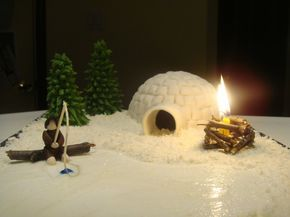 best 25 igloo cake ideas on pinterest penguin cakes. Black Bedroom Furniture Sets. Home Design Ideas