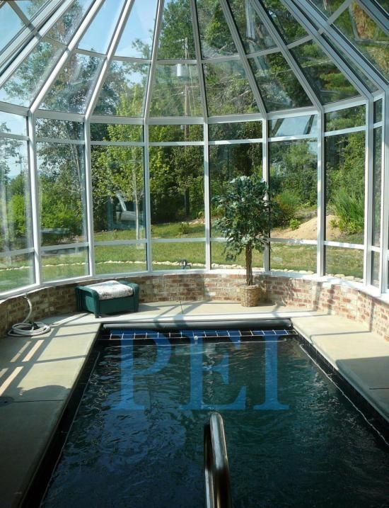Spa In Swimming Pool: Swim Spa Enclosures, Therapy Pool