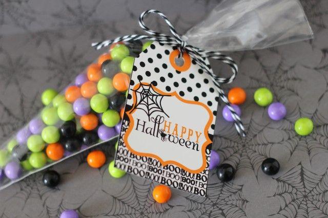 yummyHalloween Parties, Goodies Bags, Parties Favors, Halloween Tags, Printables Tags, Halloween Treats Bags, Halloween Ideas, Free Printables, Happy Halloween