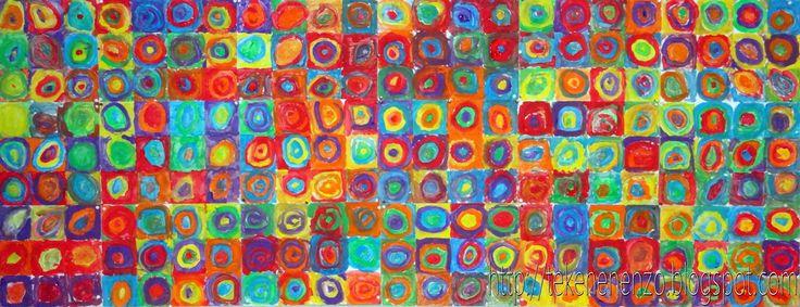 Tekenen en zo: Concentrische cirkels in de stijl van ...