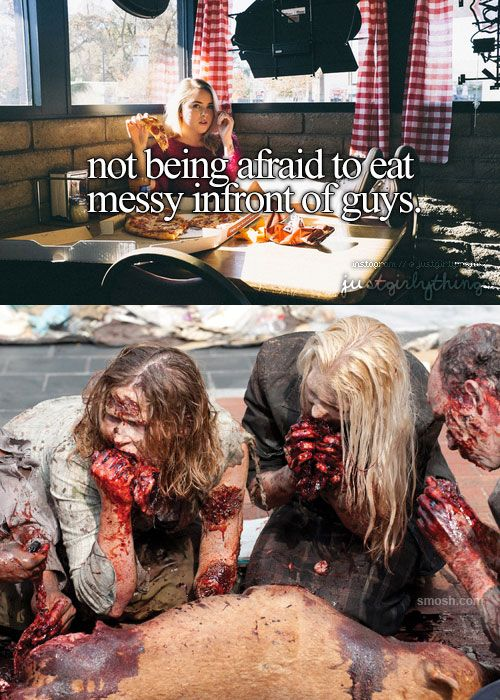 just girly thing parody messy zombies