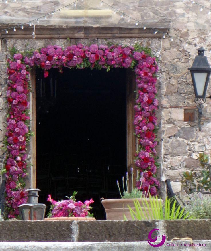 Una hermosa puerta en San Miguel de Allende, Gto, México