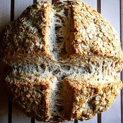 Happy St. Patricks Day and a Brand New Soda Bread