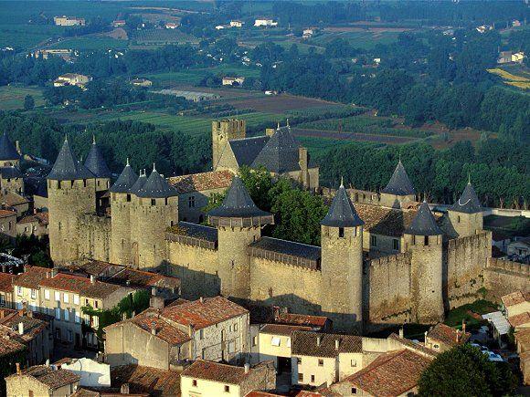 Château de Carcassonne. Aude. Languedoc-Roussillon
