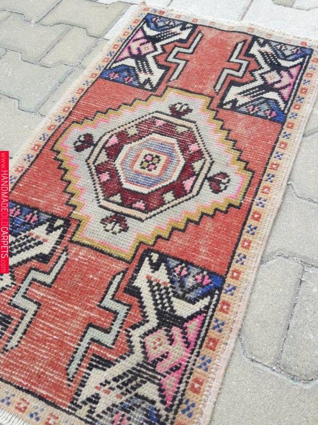 Rug Bohemian,Rug Turkish,Vintage Rugs,Small Carpet,Rug,Oushak Rugs,Turkish Rugs,2x3 Rug,Small Oushak Rug,Small Vintage Rug,Small Turkish Rug