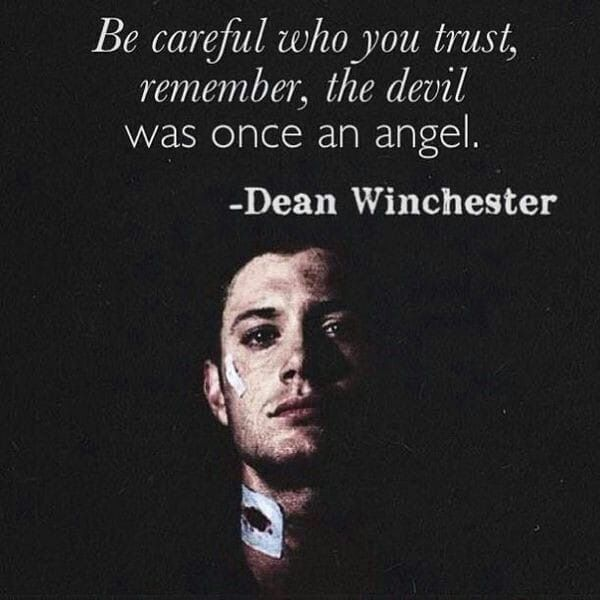 Pin By R W On Movies Tv Books Life Quotes Supernatural Quotes Inspirational Quotes