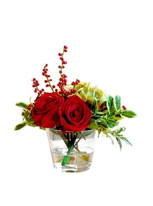 50% OFF Winward Rose Mix in 14'' Vase (Red)