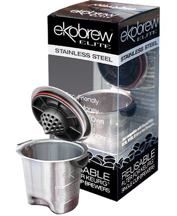 Save Money, Stay Green, Choose Your Coffee, Eckobrew single serve  reusable coffee filter