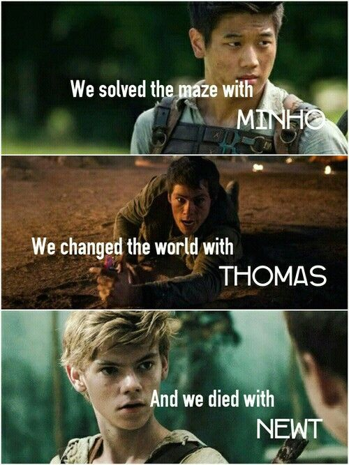 the maze runner - the scorch trials - the death cure - I CANNOT EVEN
