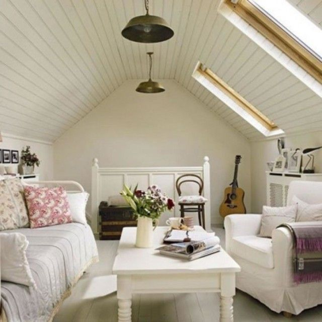 15 Attic Living Design Ideas