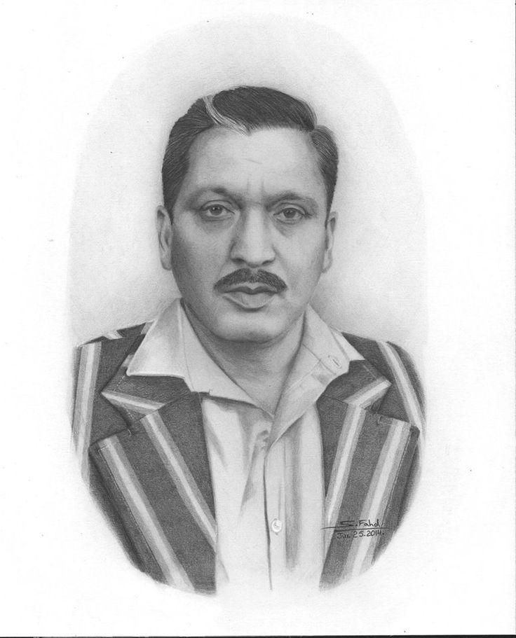My Father, Zain. I used graphite pencils.