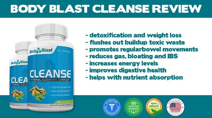 Body Blast Cleanse Review Now You Can Detox and Improve Digestion Naturally