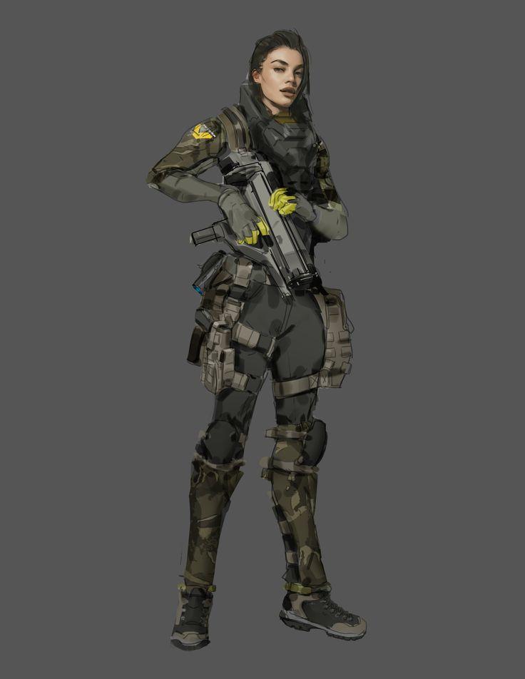 ArtStation - Aliens Colonial Marine, Tyler Bartley