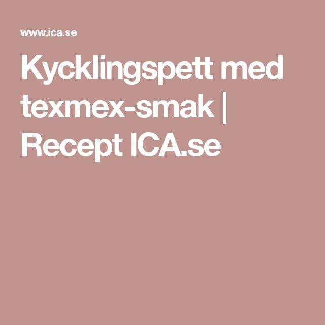 Kycklingspett med texmex-smak   Recept ICA.se