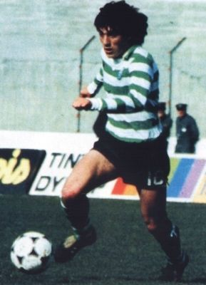 Futre_83-84 Played 28 games and scored 3 goals that season at Sporting.
