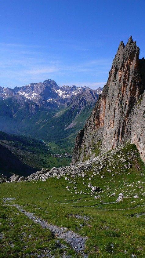 "Kletterführer Meeralpen: Rocca Provenzale ""King Line"", Plaisirklettern, Topo"
