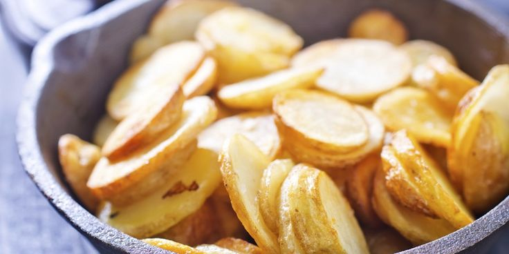 Lekker makkelijk zijn ze, die kant-en-klare aardappelschijfjes uit de…