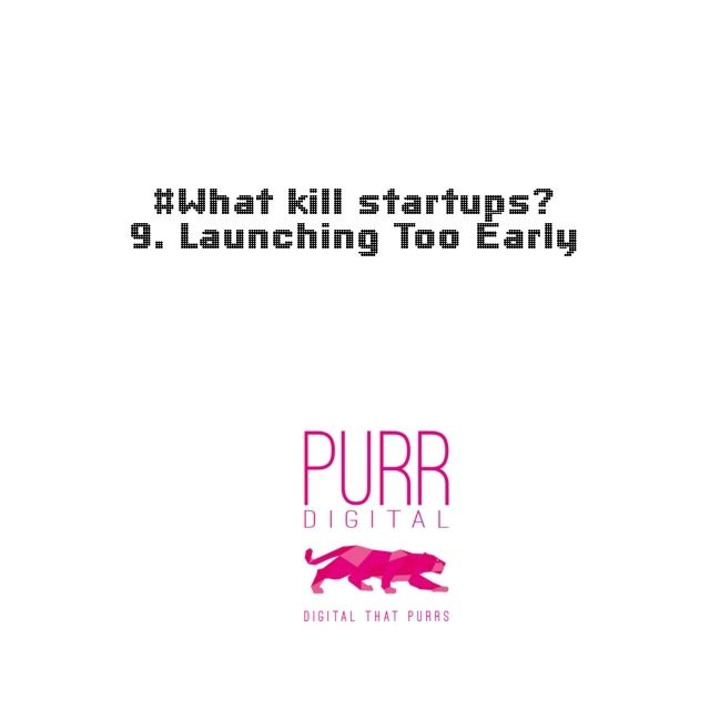 Make sure it's all ready. Or ready enough - before you go out and launch