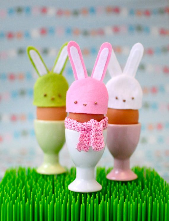 10 of the Cutest Bunny Crafts (Ever) For Easter | diycandy.com
