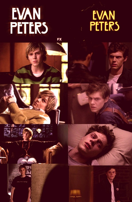 American Horror Story Season 1 - Evan Peters as Tate ...