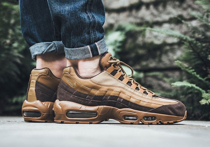 e33c41d1c5 NIKE AIR MAX 95 PREMIUM BAROQUE BROWN & GOLDEN BEIGE LIMITED EDITION #Nike  #RunningShoes | shoes | Nike air max, Sneakers fashion, Nike