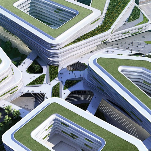 Singapore University of Technology & Design (currently under construction).